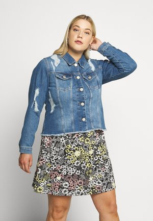 YRIPPED JACKET - Jeansjakke - light blue denim