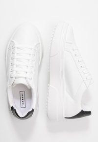 Topshop - CANADA LACE UP TRAINER - Trainers - monochrome - 3