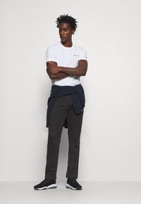 Champion - LEGACY STRAIGHT HEM PANTS - Joggebukse - black - 1