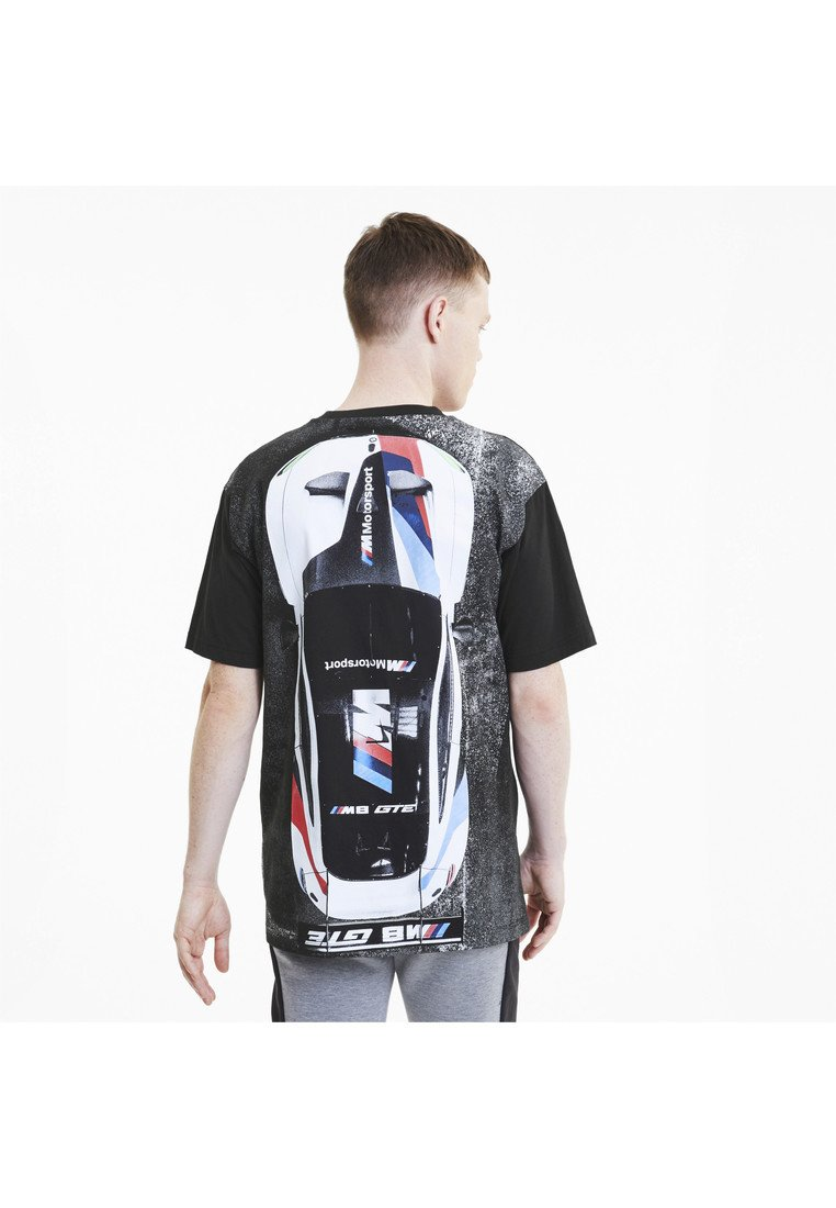 Puma - T-shirt med print - puma black