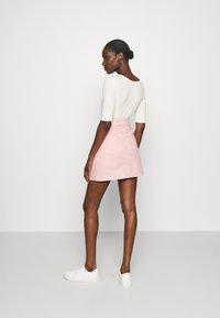 LTB - LEMIA  - Mini skirt - coral blush wash - 2