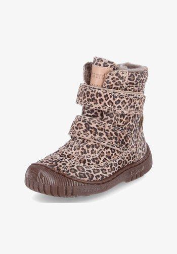 Baby shoes - braun-beige