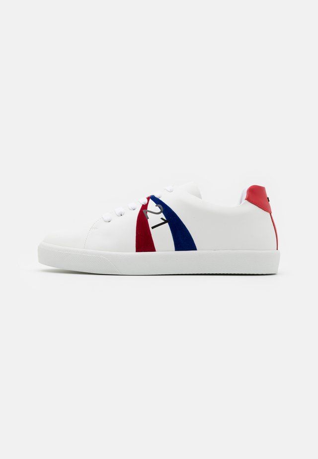 GYMNIC - Sneakersy niskie - white/red/blue