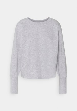 JDYDESTIN LIFE CUFF  - Collegepaita - light grey melange