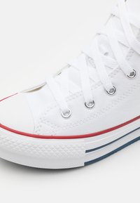 Converse - CHUCK TAYLOR ALL STAR EVA LIFT - Baskets montantes - white/garnet/midnight navy - 5