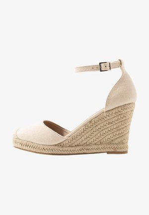 FLORENCE CLOSED TOE  - High heels - stone
