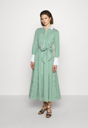 Shirt dress - secret garden green
