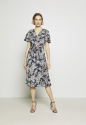 Day dress - lauren navy/pale