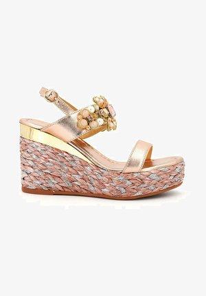 TOKIO - High heeled sandals - pink