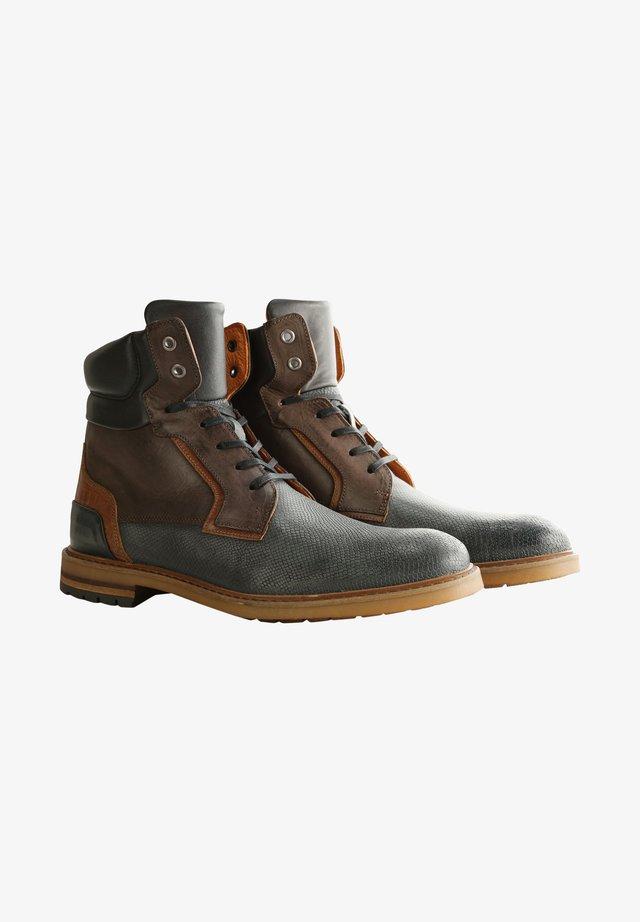 Veterboots - blue/brown