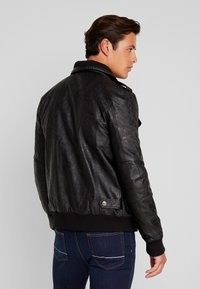 INDICODE JEANS - ULLE - Faux leather jacket - black - 3