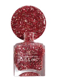 Nails Inc - JOYFUL - Nail set - red/glitter - 3