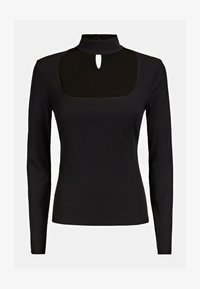 Guess - CUT-OUT - Long sleeved top - schwarz - 4