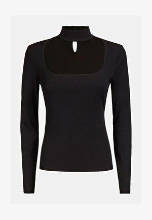 CUT-OUT - Long sleeved top - schwarz