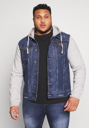HUDSONBLUE - Denim jacket - blue/grey