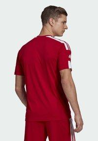 adidas Performance - SQUAD 21 - T-shirts print - team power red/white - 1