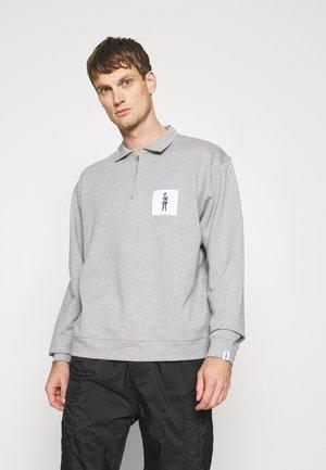 DANDYMAN ZIP - Sweater - grey