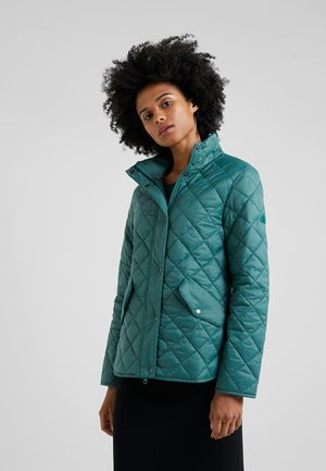 INSHORE QUILT - Light jacket - turtle green
