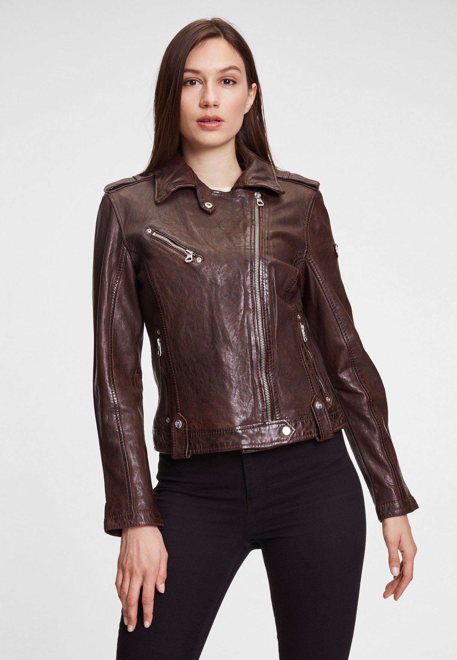 Femme GGFAMOS LAMAXV - Veste en cuir