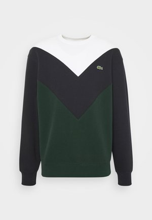 SH2185-00 - Sweatshirt - sinople/abysm/flour