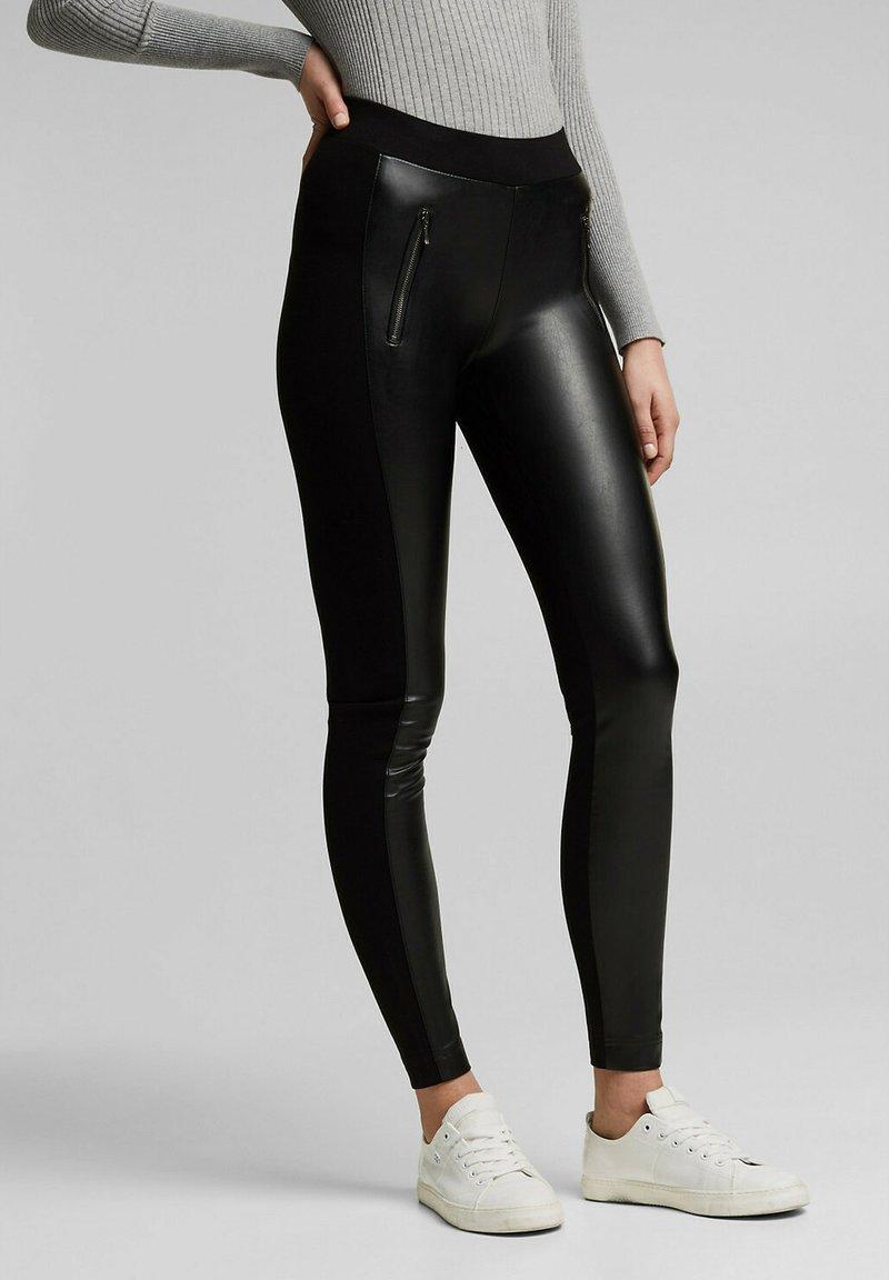 Esprit - Leggings - black