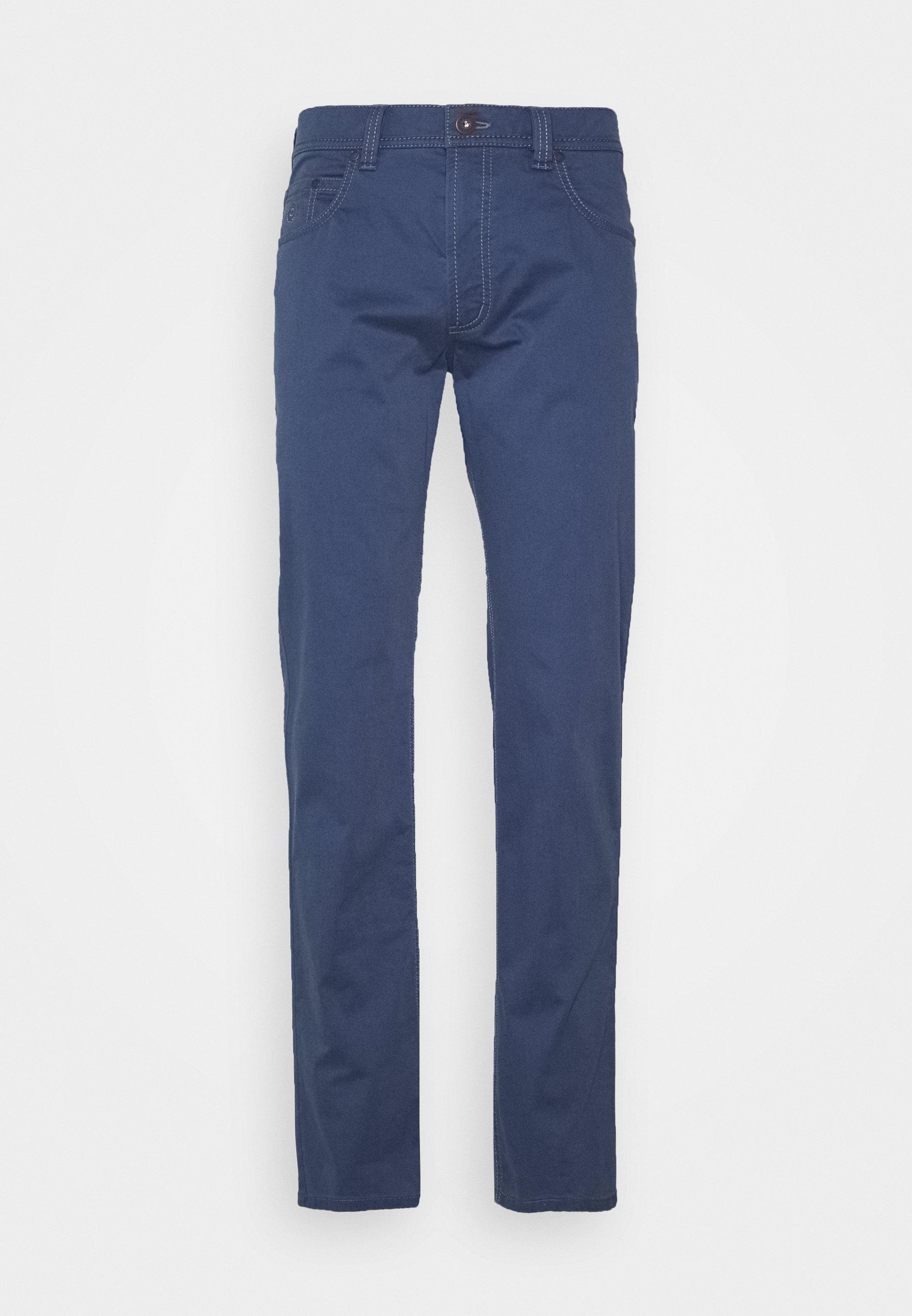 Bugatti Broken Twill Trouser - Bukse Blue/blå