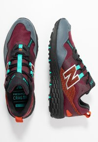New Balance - FRESH FOAM CRAG - Løbesko trail - red - 1