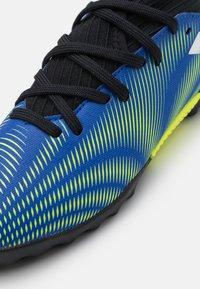 adidas Performance - NEMEZIZ .3 TF UNISEX - Astro turf trainers - royal blue/footwear white/solar yellow - 5