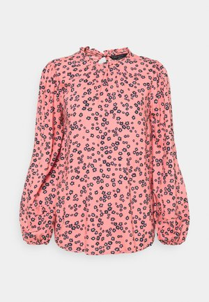 DITSY FRILL NECK - Blouse - light pink