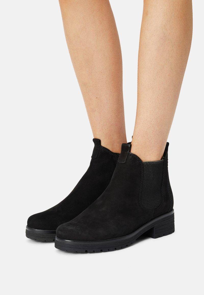 Gabor Comfort - Ankle boots - schwarz