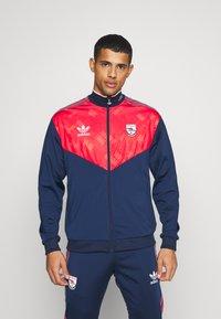 adidas Originals - Träningsjacka - collegiate navy/red/white - 0