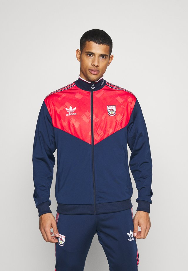 Training jacket - collegiate navy/red/white