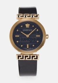 Versace Watches - GRECA MOTIV - Zegarek - black - 0