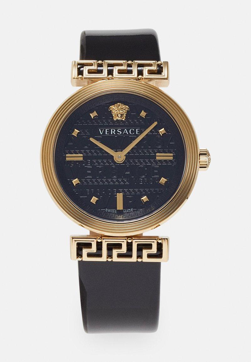 Versace Watches - GRECA MOTIV - Zegarek - black