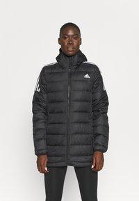 adidas Performance - ESSENTIALS DOWN - Down jacket - black - 0
