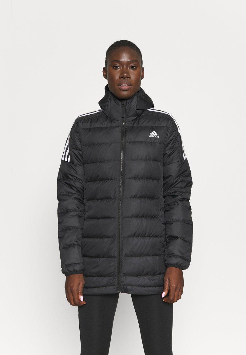 adidas Performance - ESSENTIALS DOWN - Down jacket - black
