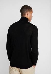 INDICODE JEANS - KERWI MERINO  - Stickad tröja - black - 2