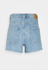 Weekday - ROWE  - Denim shorts - blue moise - 1
