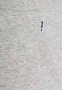 YOURTURN - UNISEX - Pantaloni sportivi - mottled light grey - 5