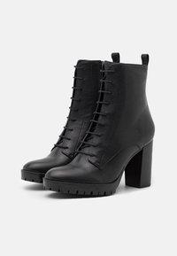 San Marina - NORE - Kotníková obuv na vysokém podpatku - noir - 2