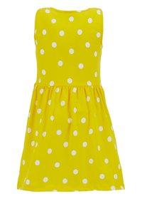 DeFacto - Jersey dress - yellow - 1