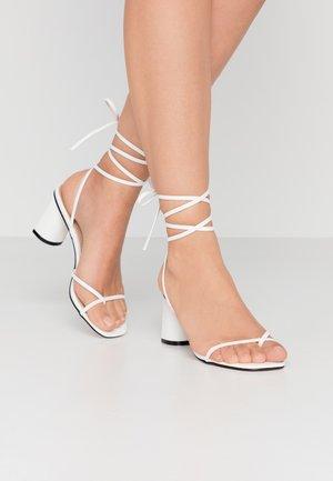 LENNY - Sandals - white