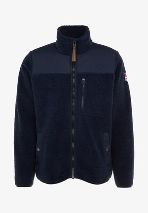 PILE JACKET - Fleece jacket - navy