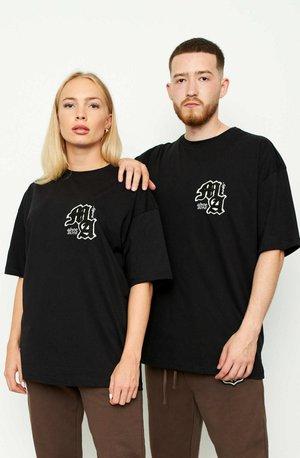 OVERSIZE MA - T-shirt basic - black