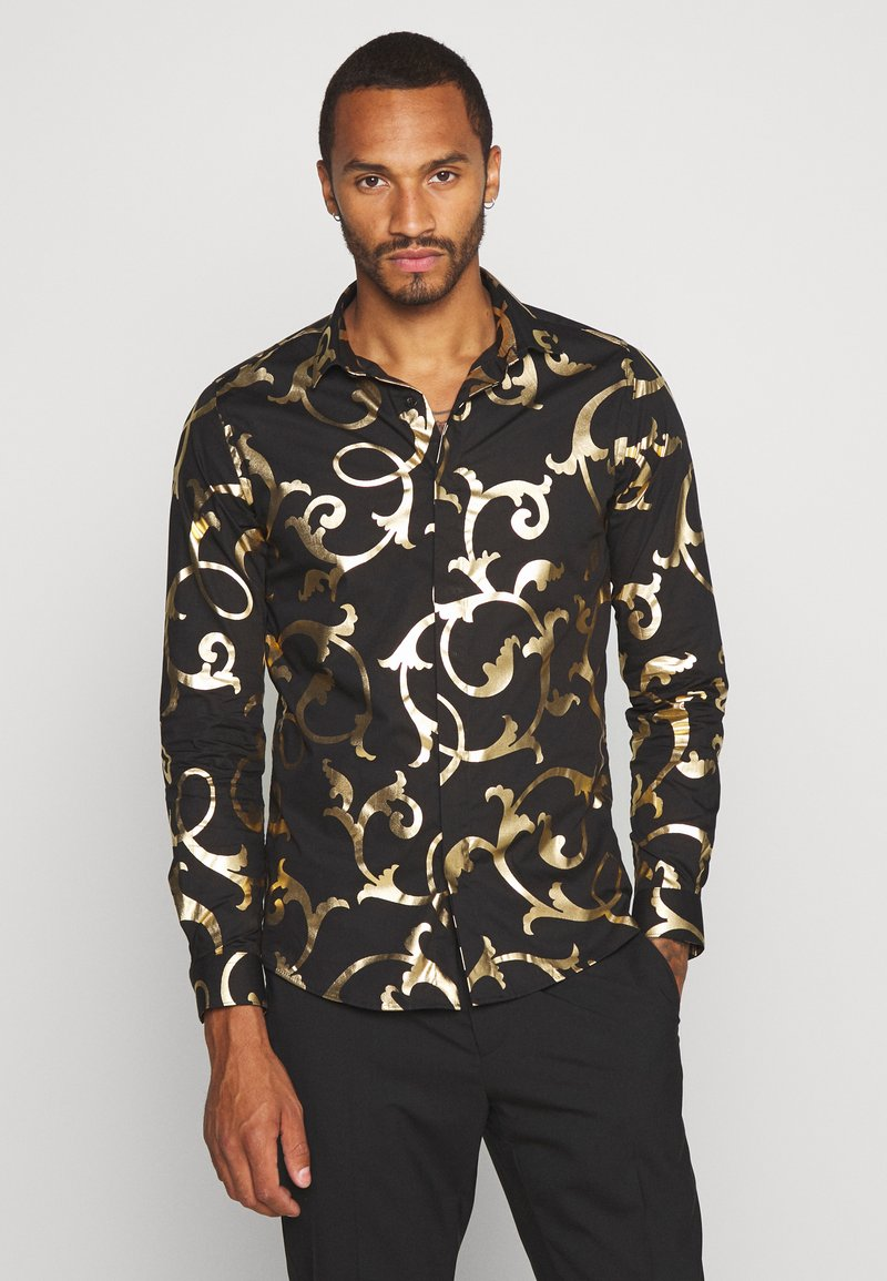 Twisted Tailor - AXL SHIRT - Košile - black