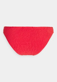 Missguided - TWIST FRONT AND BOTTOMS SET - Bikini - red - 3