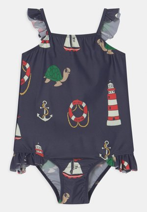 TURTLE FLOAT WING SWIMSUIT - Swimsuit - navy