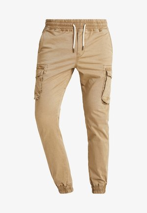 Pantaloni cargo - tan