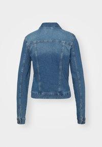 Noisy May Tall - NMDEBRA  - Denim jacket - medium blue denim - 6