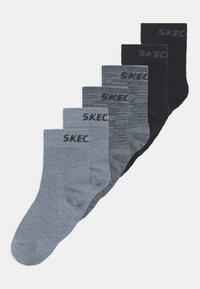 Skechers - ONLINE BOYS 6 PACK - Socks - stone mouline - 0